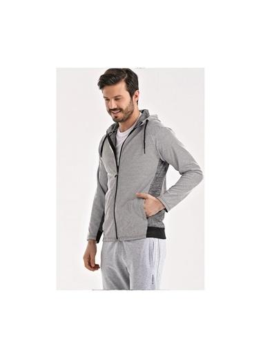 Uhlsport Uhlsport Erkek Kapşonlu Sweatshirt Grey M 1119023 Haki